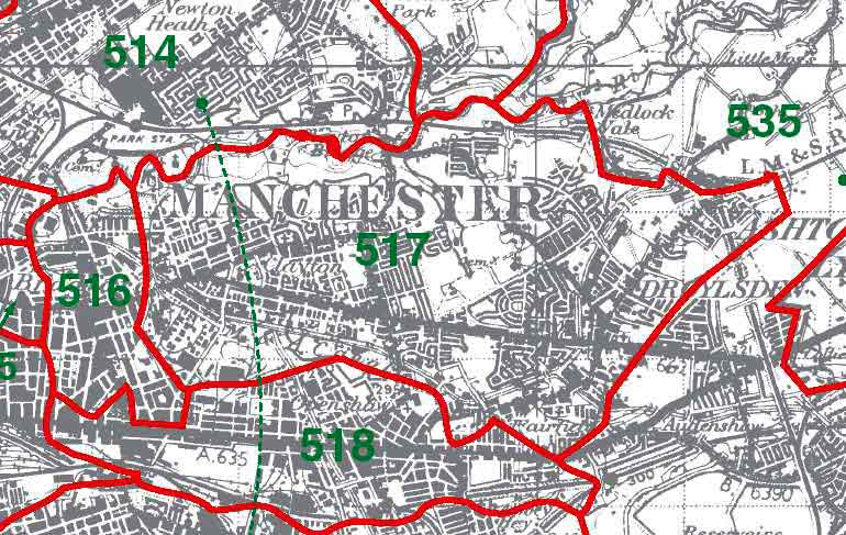 Droylsden Map