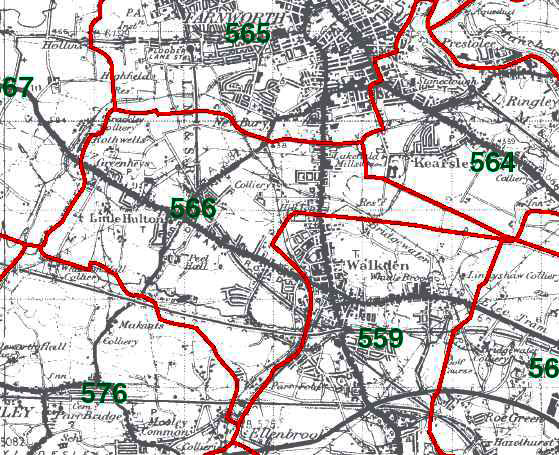Little Hulton Map