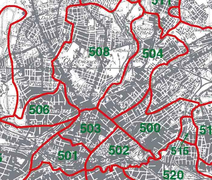 GENUKI Manchester Parish Map Lancashire Genealogy