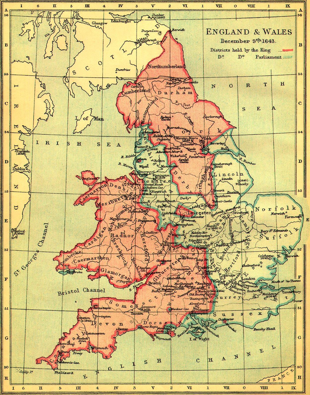 Stare geografske mape i karte - Page 6 Engwalmap1643