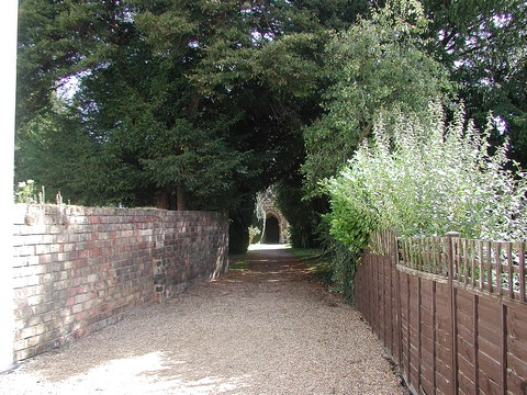 The approach to the main Church door, Blunham