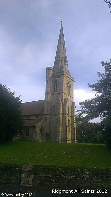 All Saints Church, Ridgmont