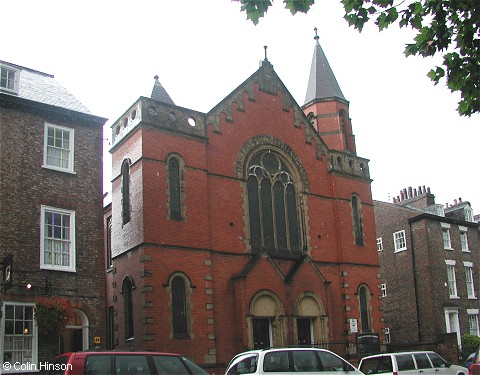 The Trinity Methodist Church, York
