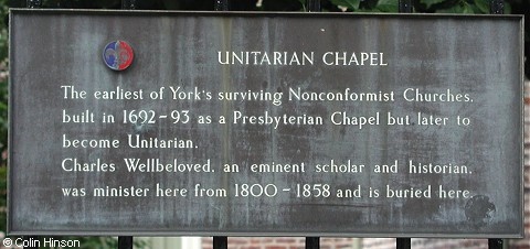 The Unitarian Chapel, York