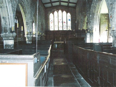 Inside Holy Trinity Church, Goodramgate