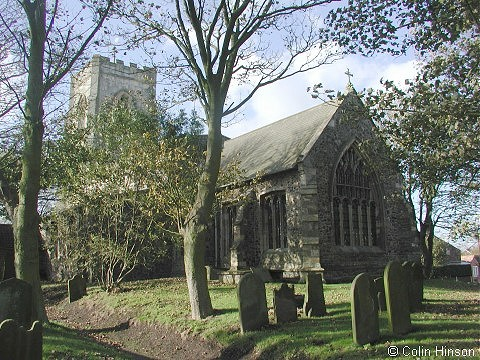 All Saints' Church, Easington