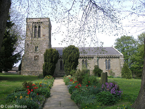 St. Cuthbert and St. Mary's Church, Barton