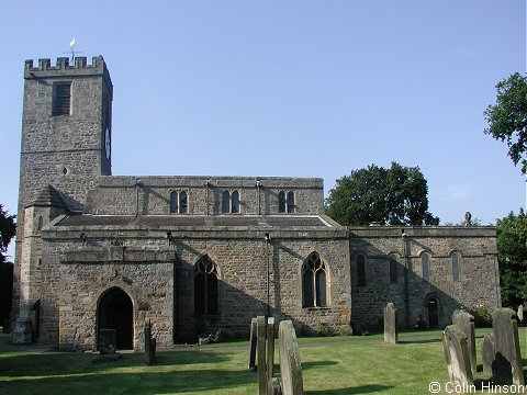 St. Agatha's Church, Gilling West