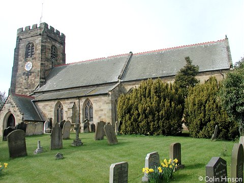 St. John the Baptist's Church, Kirby Wiske