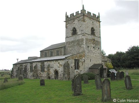 The Church of St. Helen and the Holy Cross, Sheriff Hutton