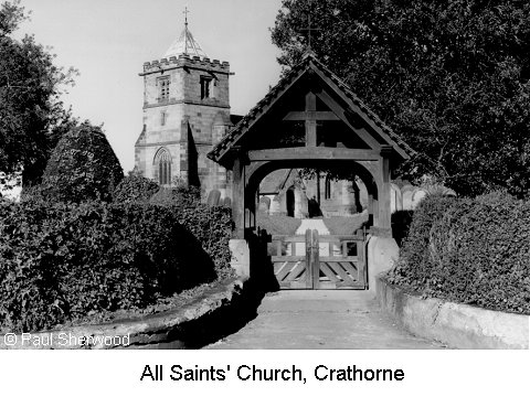 All Saints' Church, Crathorne