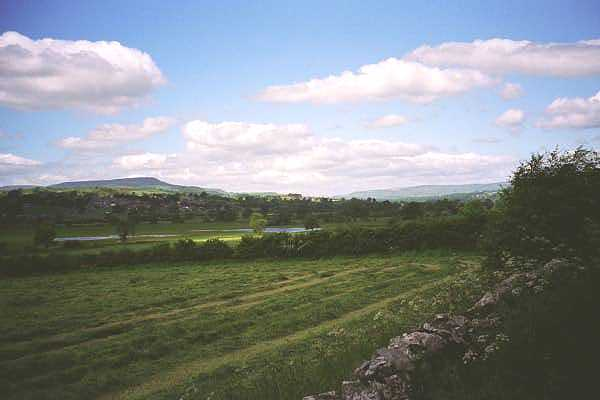 Wensleydale, showing West Witton and Penhill