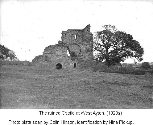 The Ruined 'Castle' at West Ayton, View 1