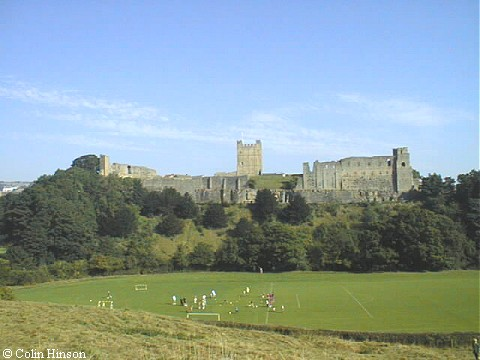 Richmond Castle, from the south