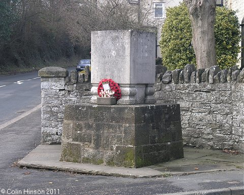The World War II memorial at Beadlam.