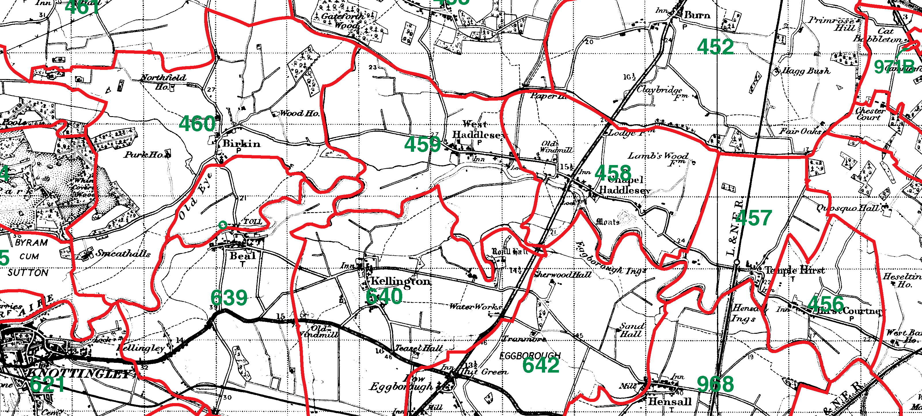 Birkin boundaries map