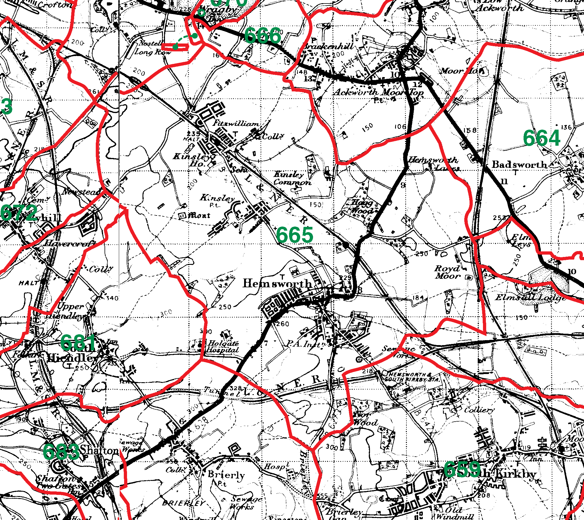 Hemsworth boundaries map