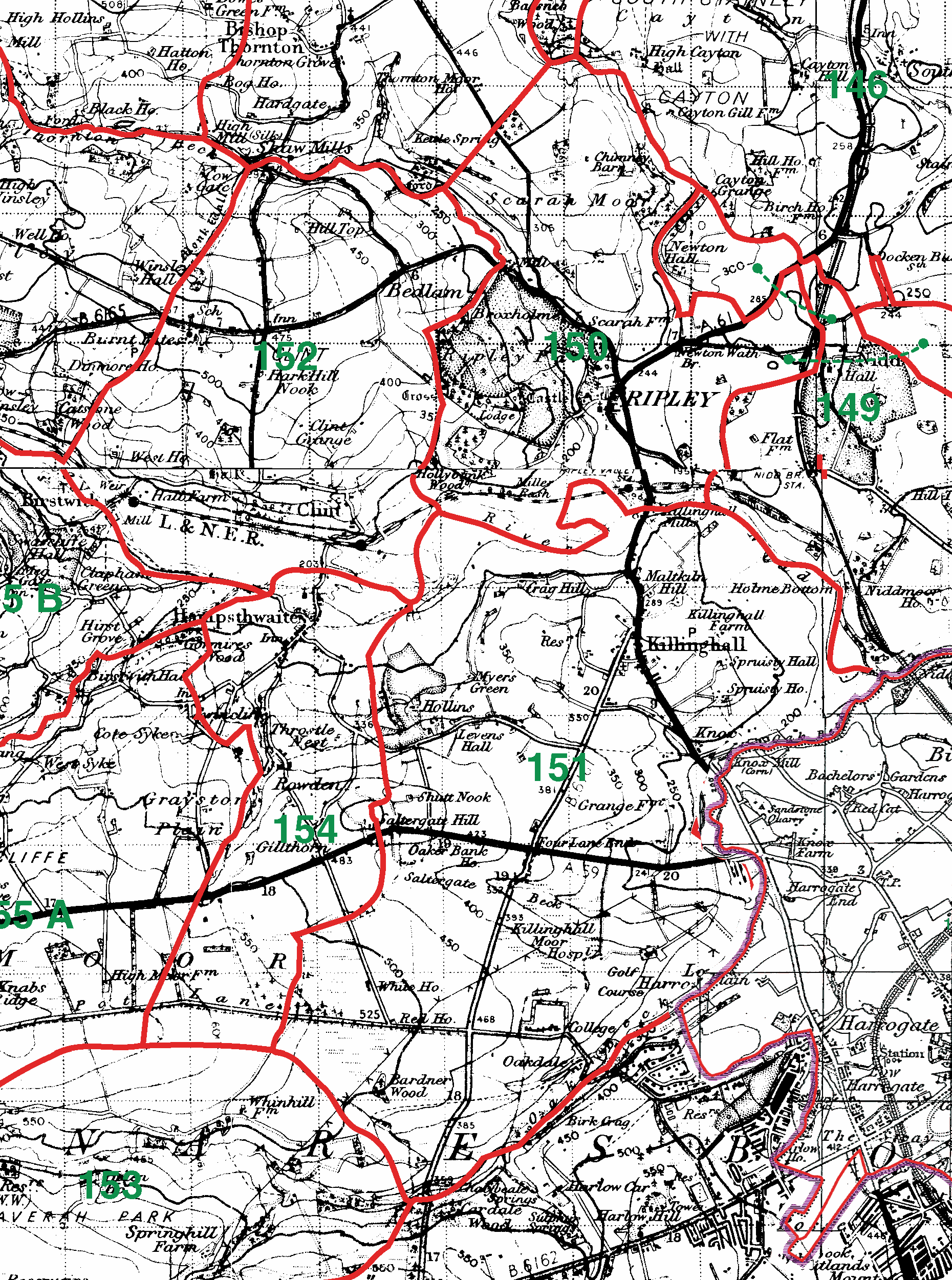 Ripley boundaries map