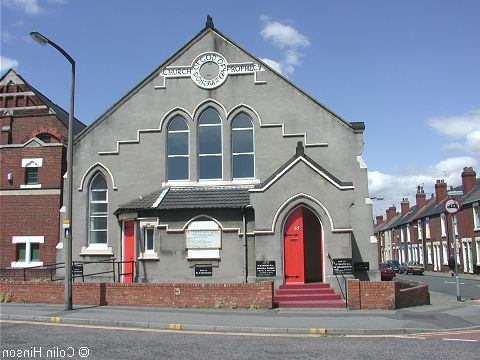 The Church of God of Prophecy, Doncaster