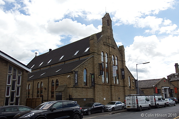 The former St. Mark's Church, Huddersfield