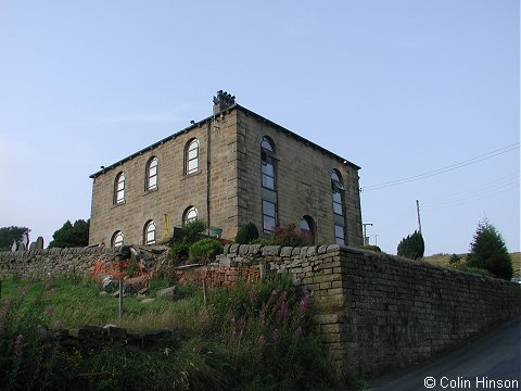 The former Independent Chapel, Clough Foot