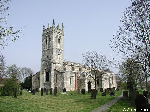 The Church of St. John the Baptist, Wadworth