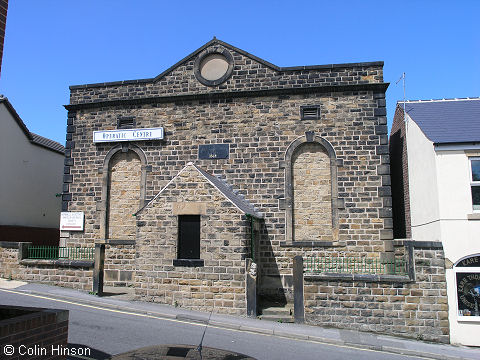 The former Zion Chapel, Wombwell