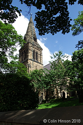 St Thomas and St James' Church, Worsbrough Dale