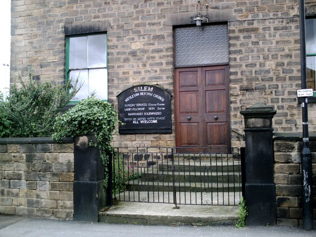 The Salem Wesleyan Reform Church, Barnsley