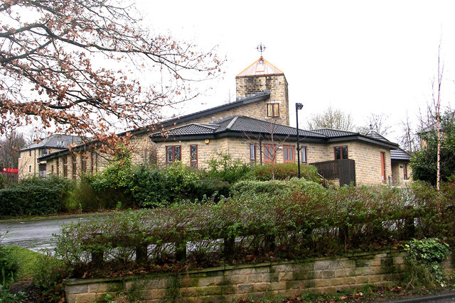 The Roman Catholic Church of St. Mary and St. Monica, Cottingley