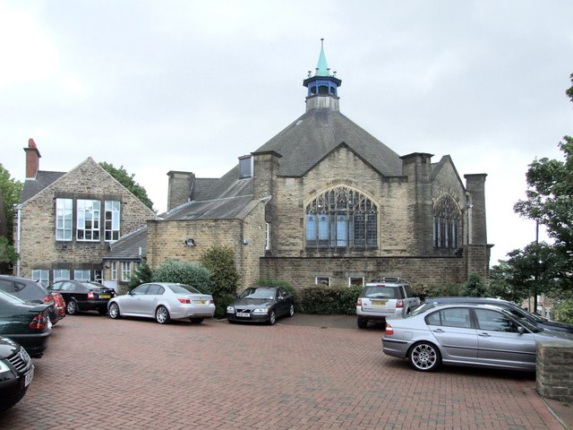 The former Congregational Church, Crookes
