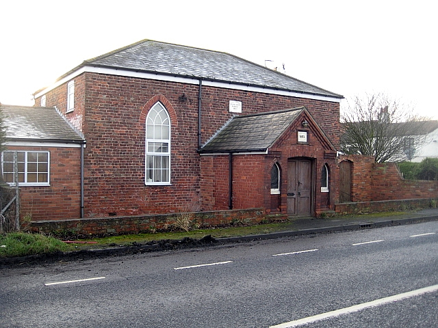 The former Salem Chapel, High Levels