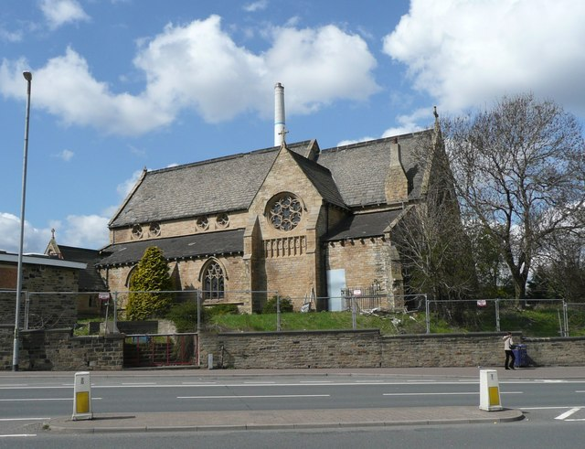 The former St. Andrew's Church, Huddersfield
