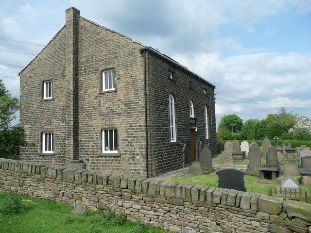 The Parrock Nook Congregational Church, Rishworth