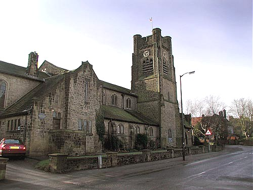 St. John the Evangelist's Church, Ben Rhydding