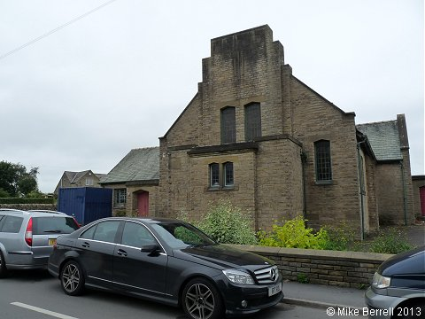 The former Methodist and Anglican Church, Cononley