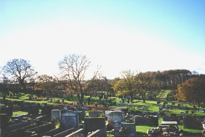 Crookes Cemetery, View 1.