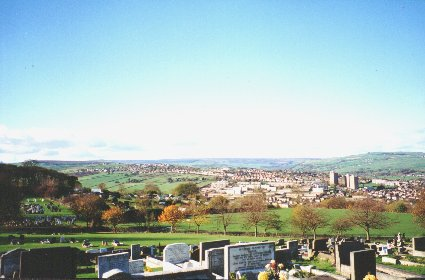 Crookes Cemetery, View 3.