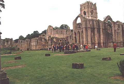 The Ruins of Fountains Abbey, Ripon