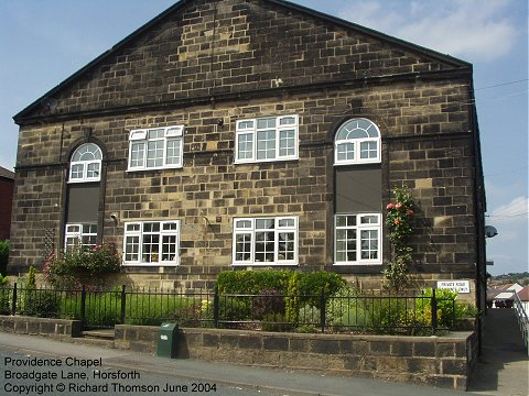 Providence Chapel, Horsforth