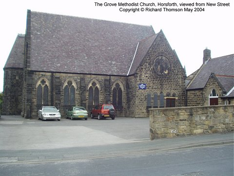 The Grove Methodist Church, Horsforth