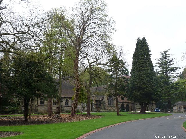 Lawnswood Crematorium and Chapel, Lawnswood