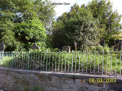 The Graveyard, Luddenden Dean