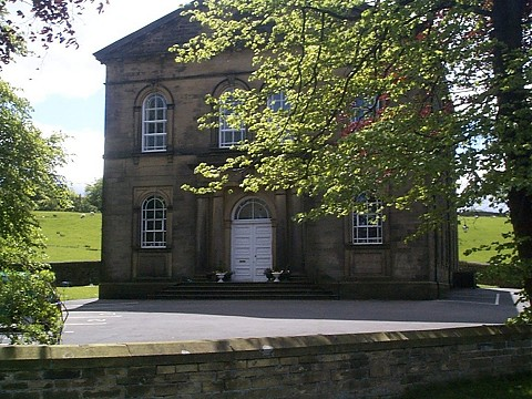 The former Baptist Chapel, Oakworth