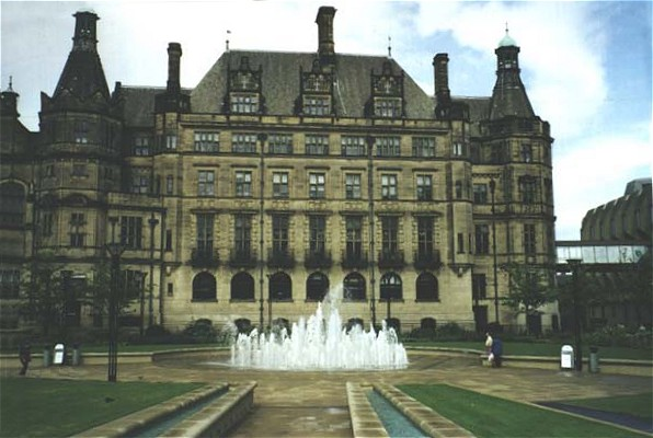 Sheffield Town Hall, in 2000