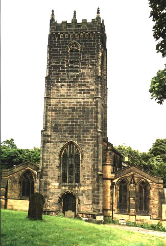 St. Michael and all Angels' Church, Thornhill