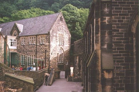 The schoool at Hebden Bridge, Hebden Bridge