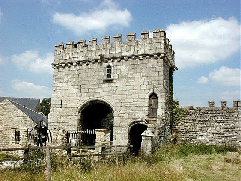 Steeton Hall Gateway, near South Milford