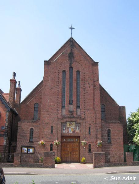 GENUKI: St John the Evangelist, New Ferry, Roman Catholic, Cheshire