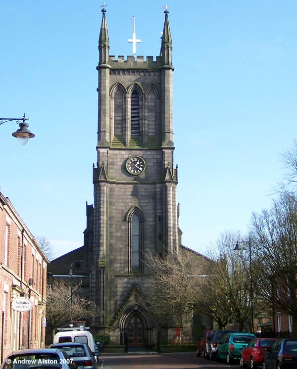Genuki St George Chorley Church Of England Lancashire